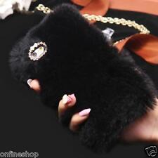 Case for iphone 7/7 Plus - Fluffy Villi Fur Plush Wool Bling Skin Case Cover