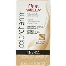 Wella Color Charm Liquid Haircolor 4n/411 Medium Brown, 1.4 oz