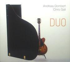 ! CD ANDREAS DOMBERT / CHRIS GALL - duo