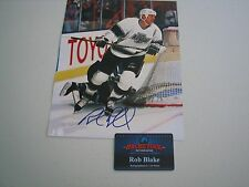 Rob Blake Autographed 8x10 Photo - Hockey Ink