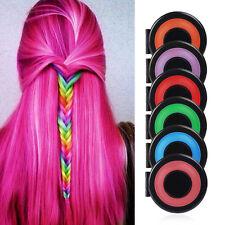 6 PCS DIY Temporary Hair Chalk Special Color Dye Pastels Salon Kit Non-toxic