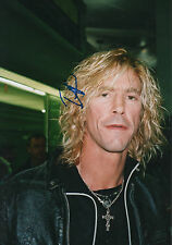 "Duff McKagan ""Guns N 'Roses"" autógrafo signed 20x30 cm imagen"