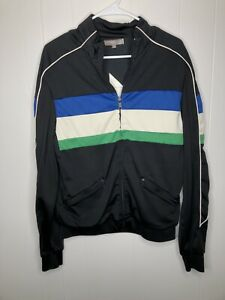 MEN`S zip up sports JACKET COAT = FOSSIL  = SIZE Small Free Shipping