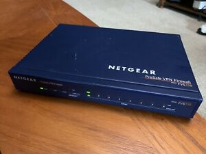 Netgear ProSafe VPN Firewall Model: FVS338, Tested & Upgraded to Latest Firmware