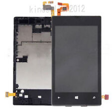For Nokia Lumia 520 LCD Display Frame Screen LCD Digitizer Assembly Replacement