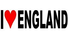 I Love England Vinyl Decal Sticker