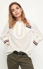 Top / blouse en coton blanc Ba&Sh T 0