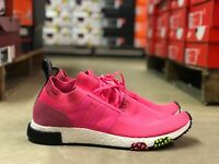 Adidas NMD Racer Primeknit Mens Running Shoe Pink/White CQ2442 NEW Multi Szs