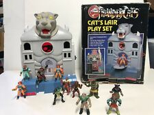 Thundercats Cat's Lair Play Set With Miniature Figures IN BOX VINTAGE 1986