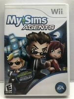 MySims Agents - Nintendo Wii, Good Video Games Complete