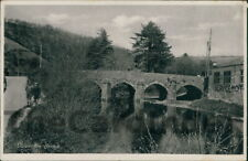 DULVERTON Barle Bridge Postcard nr Winsford Brushford SOMERSET Anon