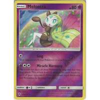 Pokemon TCG: Meloetta - 104/214 - Rare Reverse Holo Card - SM8 Lost Thunder