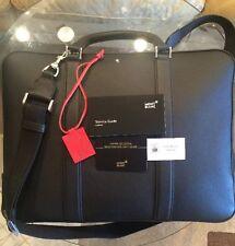 Montblanc Briefcase Document  Shoulder Strap Large Bag
