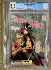 OUR ARMY AT WAR #88 SGT. ROCK COVER HEATH KUBERT 1959  CGC 2.5