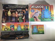 Taito Arkanoid Nintendo Original NES Game Box w/ Instruction Manual & Hang Tab