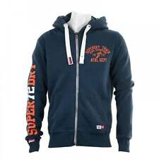 Superdry Cotton Blend Zip Neck Hoodies & Sweats for Men