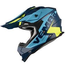 Vemar TAKU MD/LG/XL BLUE YELLOW ACU Motocross Enduro Helmet RM RMZ DRZ FE FS FC