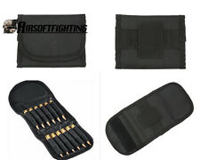 Ammo Wallet 12 Rounds Rifle Pouch Holds 223-308 Bullet Ammunition Holder Gun