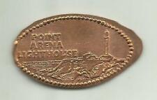 Copper elongated penny (cent) Point Arena Lighthouse Point Arena Ca Retired Die