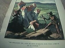 book plate 1907 folk stories go straight on for the castle james d powell