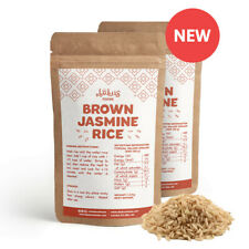 Bulk: 2 x 1.3 kg Bag Of Brown Jasmine Rice