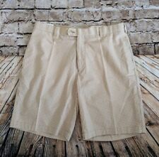 Men's Size 34 Peter Millar Brown Yard Dyed Gingham Cotton Shorts