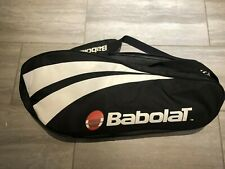 Babolat Large Tennis Backpack Bag Double Compartment Black Red & White