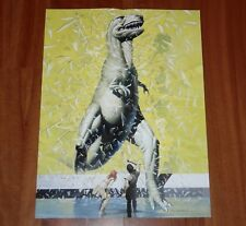 STORM THE LEGEND OF YGGDRASIL PROMO FOLDOUT POSTER 1993 DON LAWRENCE
