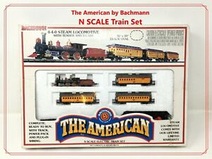 🚂 The American by Bachmann N SCALE Electric Ready-to-Run Set  *Tiny Trains* 🚂