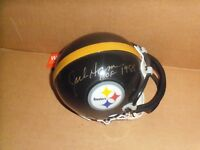 Jack Ham, Pgh Steelers, Signed Steelers, Black Mini Helmet