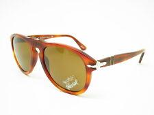 91ea86d52ae5 Persol Sunglasses 649 96/33 Light Havana With Brown Lenses Size 54 Po0649