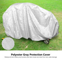 Large Polyester Gray Tractor Protection Cover For Garden Yard Mower Lawn Tools