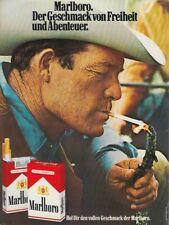Marlboro Zigaretten - Reklame Werbeanzeige Original-Werbung 1976 (2)