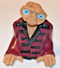 E.T. EXTRA-TERRESTRIAL PVC PLASTIC FIGURINE TOY COLLECTIBLE ET JACKET 2002