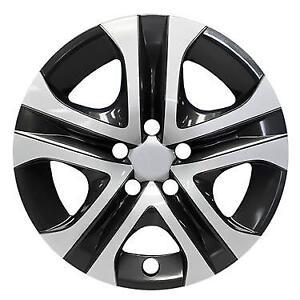 """NEW 2016 2017 2018 Toyota RAV 4 RAV4  17"""" Silver Black Hubcap Rim Wheelcover"""