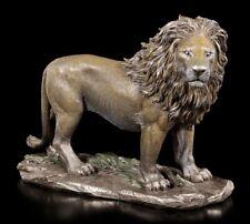 Löwen Figur - König des Dschungels - Veronese Bronze-Optik Statue männlich