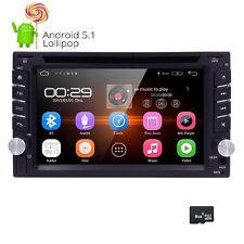 2017 Android 5.1 2Din Car GPS Navi DVD Player Wifi 3G Bluetooth In-Dash Radio