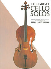 The Great Cello Solos Learn to Play Classical Saint Seans Strings Music Book