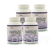 4 NeoSizeXL Penis Enlargement, NATURALLY HUGE PENIS, Male Enhancement Pills BEST