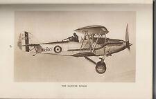 1934 BOOK - BRITISH AEROPLANES ILLUSTRATED - C.A. SIMS