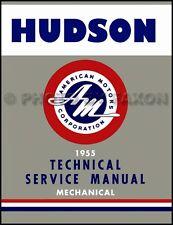 1955 Hudson Manuale di Negozio 55 Vespa Rambler Riparazione Base Libro per
