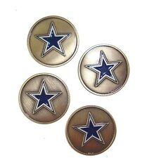 Dallas Cowboys NFL Golf Ball Markers (Set of 4)