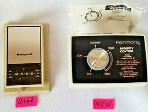 Honeywell Non Programmable Thermostat & Kenmore Furnace Humidity Controller