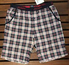 Jockey Men's Cotton Modal Checked Pyjama Shorts - Medium - 52751H-499