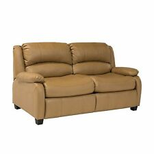 "RecPro Charles 65"" RV Sofa Sleeper w/ Hide A Bed Loveseat Toffee 