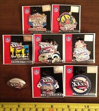 New England Patriots St Louis Rams Super Bowl Pin Set XXXVI - All 8 Included!!