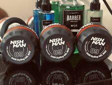 Nishman 09 cire coiffante pour cheveux senteur COLA 150 ml (LOT DE 3)