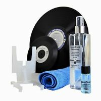 Vinyl Clear Record Cleaner LP & Stylus Cleaning Kit Microfibre Vinyl Cloth