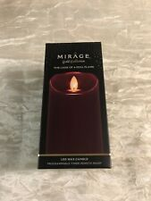 mirage gold candle Oxblood 3x7
