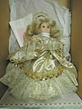 "hd-124 Vinyl doll: ""Angel"" tree topper 10"" tall; from Dolls by Jerri"